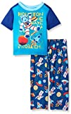 The Children's Place Baby Space Two Piece Sleep Set, Inked, 18-24 Months