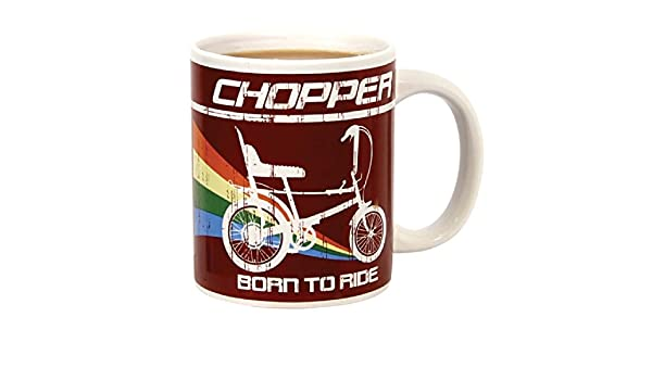 Raleigh - Taza, diseño de Bicicleta Chopper: Amazon.es: Hogar