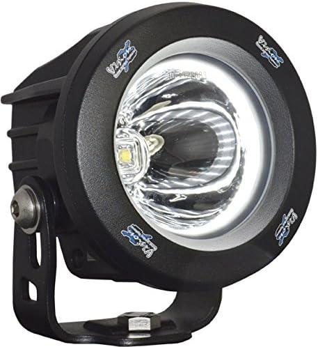 Vision X Lighting VIS-XILOPRH115 XIL-OPRH115-Optimus Rund Series Fernscheinwerfer-Halo Standlicht-1 LED 10W-1052 lm-E-Mark