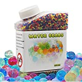 Water Beads, 8.8 oz (30,000 beads)Reusable for Orbeez Spa Refill, Sensory Toys,Colorful Décor & Outdoor Play