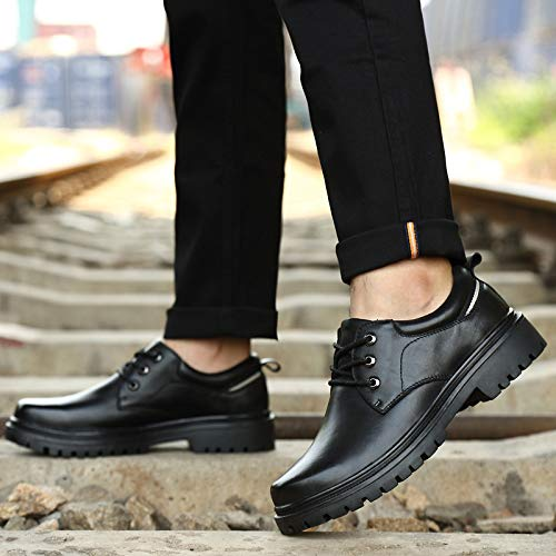 Cuir Femme Nouvelles Chaussures Ressort three De Décontractée À Tendances Mode Sauvages La Kmjbs Jaune in Pour Lacets Homme Forty qWtZ177cn