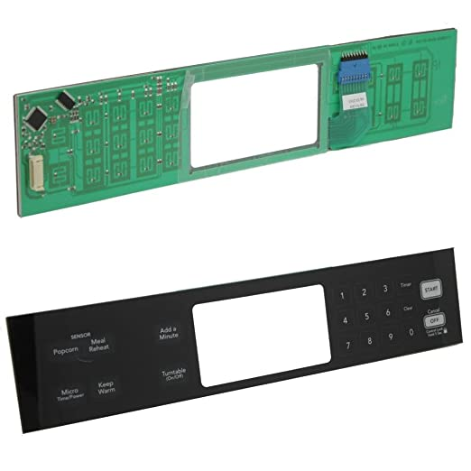 KitchenAid wp8206635 microondas Touch Panel de control: Amazon.es ...