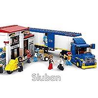 Sluban Heavy Duty Truck Transporter - 537 Pieces in Original English Box 100% Compatible - Educational Toy - Building Blocks (M38-B0318)