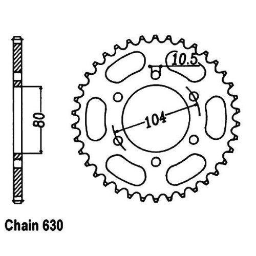 Amazon Com Jt Sprockets Jtr501 41t Sprockets Steel Sprocket Gry