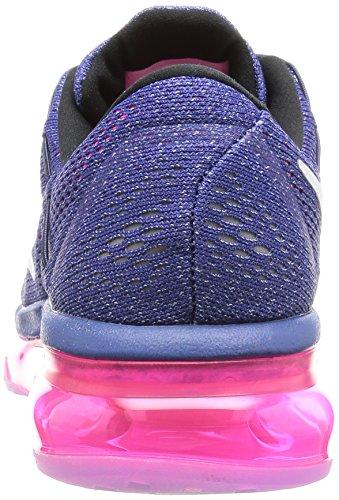Nike Damen Wmns Air Max 2016 Laufschuhe Morado (Dk Prpl Dst / White-Pnk Pw-Bl Gr)