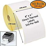 "4x 250 Labels// Roll 4/"" x 6/"" All Zebra Thermal Printer Shipping USPS Fedex UPS"