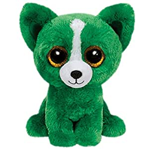 Amazon.com: Ty Dill the Green Dog Beanie Boos Special