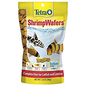 Tetra ShrimpWafers Complete Diet for Catfish and Loaches 3 Ounce 58