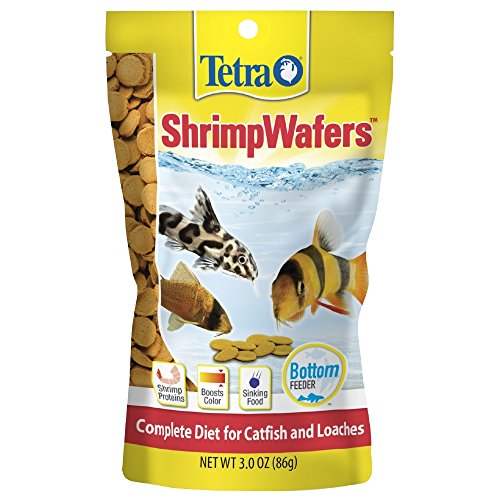 Clear Buddy Water Tank Tablets - Tetra ShrimpWafers Complete Diet for Catfish and Loaches 3 Ounce