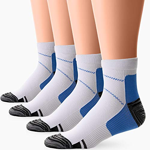 - Bluemaple Compression Socks for Women and Men, Compression Ankle Socks, Golf Socks,Regular wear, Fashion wear -Say Goodbye to Your Pain
