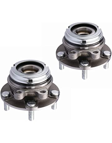 MOSTPLUS Front Wheel Hub & Bearing Pair Set for 2007-2013 Altima Nissan w/