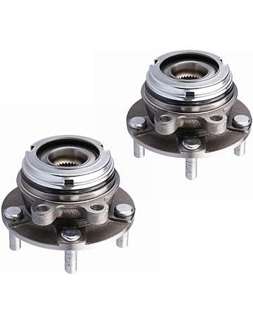 MOSTPLUS Front Wheel Hub & Bearing Pair Set for 2007-2013 Altima Nissan w/