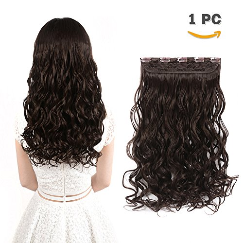 Curly Wavy Clip in on Hair Extensions - 20