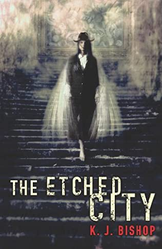 book cover of The Etched City