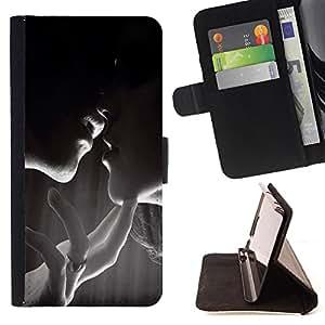 Jordan Colourful Shop - FOR Samsung Galaxy S5 V SM-G900 - kiss you - Leather Case Absorci¨®n cubierta de la caja de alto impacto