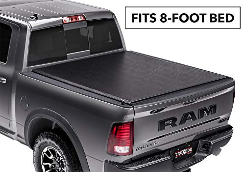 TruXedo Deuce Hybrid Truck Bed Tonneau Cover | 748901 | fits 2009-2018, 2019 Classic Dodge Ram 1500/2500/3500, 8' Bed