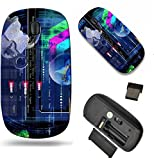 MSD Wireless Mouse Travel 2.4G Wireless Mice with USB Receiver, Noiseless and Silent Click with 1000 DPI for notebook, pc, laptop, computer, mac book design 19834396 Internet Network website Safety