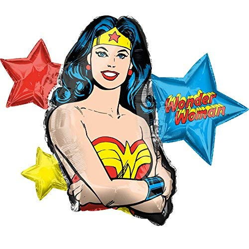 Anagram 33 Inch Wonder Woman Balloon]()