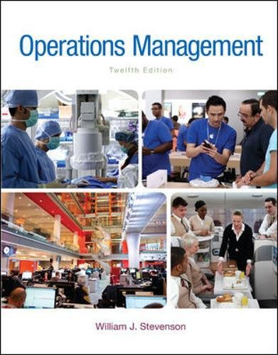 78024102 - Operations Management (McGraw-Hill Series in Operations and Decision Sciences)