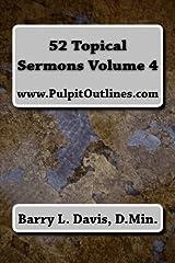 52 Topical Sermons Volume 4 Paperback