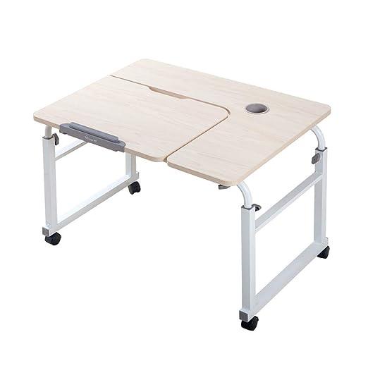 NewbieBoom Mesa Plegable para Laptop Lapdesks, Ajustable en Altura ...