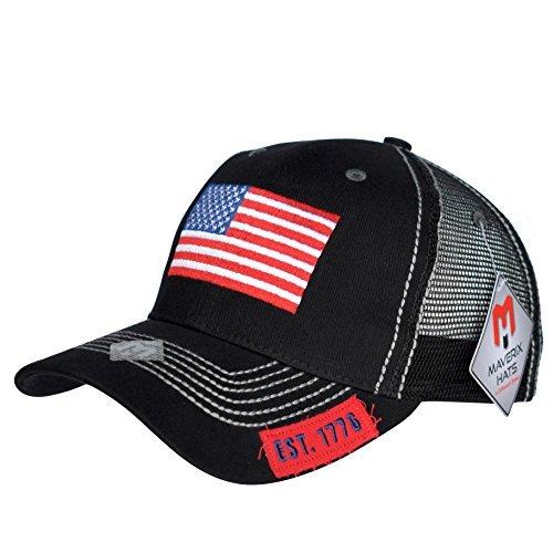 American Flag Hat Snapback - Black Mesh Back Hats Mesh Snapbacks Hats Snap  Cap Cool Snapbacks Cheap Mens Meshed Baseball Caps USA Trucker Cap Snapback  USA ... 67b119ff4f