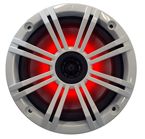 Kicker 6.5'' White LED Marine Speakers (QTY 2) 1 pair of OEM replacement speakers by Kicker (Image #4)