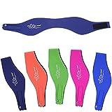 SUIEK Swimming Headband with Free Swimming Earplugs