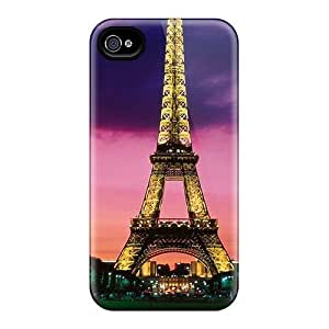 Ideal LisaMichelle Case Cover For Iphone 4/4s(torre Eiffel Paris), Protective Stylish Case