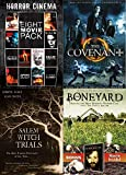 Lotsa Horror Movies Collection - Prom Night, Campire Wars, The Dead One, Descendant, The Case of the Whitechapel Vampire, The Nurse, Nadja, Shadow Zone, Salem Witch Trials, The Covenant, and Boneyard