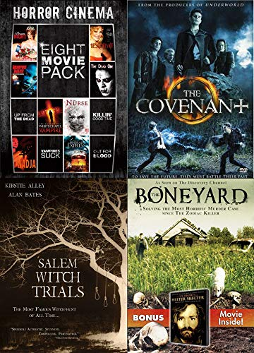 Lotsa Horror Movies Collection - Prom Night, Campire Wars, The Dead One, Descendant, The Case of the Whitechapel Vampire, The Nurse, Nadja, Shadow Zone, Salem Witch Trials, The Covenant, and Boneyard -