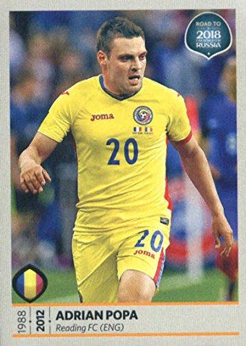 Cup Adrian (2017 Panini Road to 2018 FIFA World Cup Russia #172 Adrian Popa Romania Soccer Sticker)