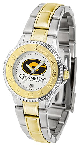 Grambling State Tigers Competitor Two-Tone Women's Watch