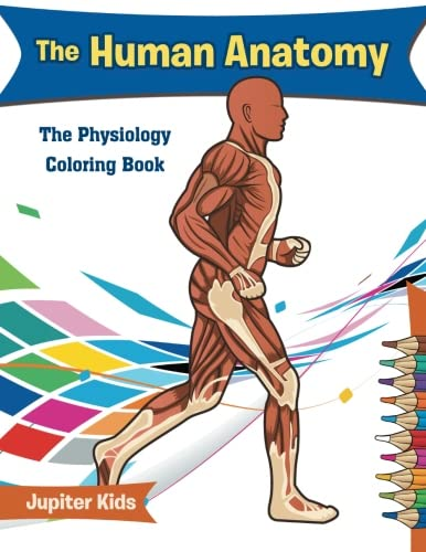 The Human Anatomy: The Physiology Coloring Book