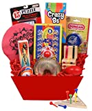 Beyond Bookmarks Retro-rama Kid's Gift Basket of Classic Retro Toys and Games