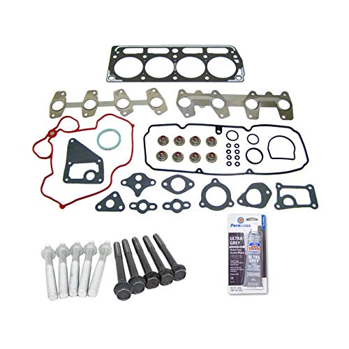 Head Gasket Set Bolt Kit Fits: 98-03 GMC Chevrolet Pontiac Isuzu 2.2L OHV 8v ()