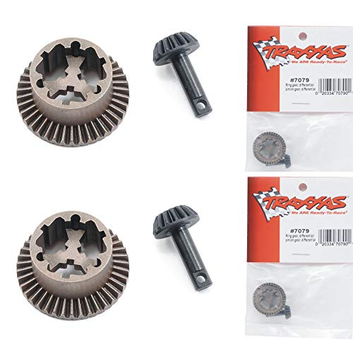 Traxxas 7079 Differential Ring & Pinion Gear (2pc) 1/16 E-Revo Slash - Revo Traxxas Gear E