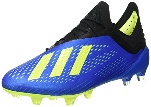 Yellow core football Football solar Homme Fg De Black Blue Bleu 1 Adidas Chaussures 18 X WqSzwfx7g1