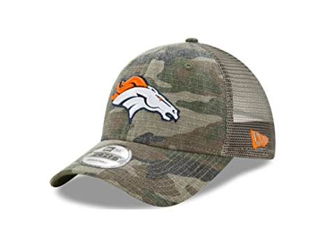 9cd8110b242 Image Unavailable. Image not available for. Color  New Era Denver Broncos  Camo Trucker Duel 9FORTY Adjustable Snapback Hat Cap