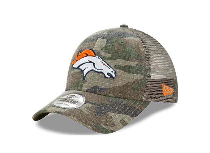 1f8a6d7a5 New Era Denver Broncos Camo Trucker Duel 9FORTY Adjustable Snapback Hat/Cap