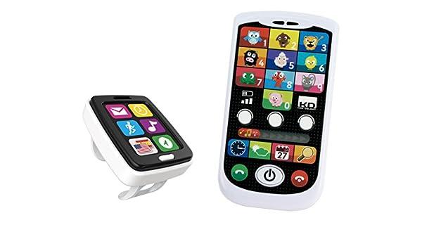 Kidz Delight - Set de smartwatch y teléfono móvil (Cefatoys ...