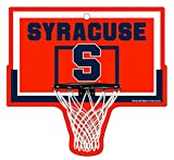 Syracuse Orange Basketball Hoop Sign NCAA 9.5' x 9'