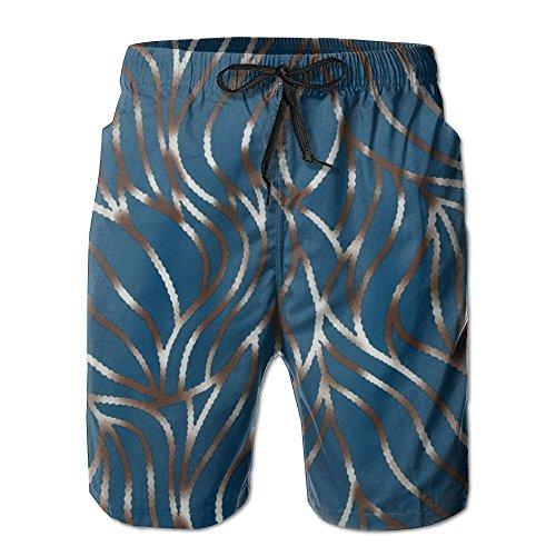 Hot Kolut Abstract Branch Camping Hawaiian Vacation Surfing Board Beach Board Shorts