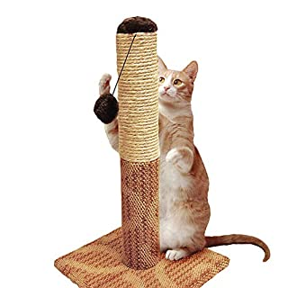 "Four Paws Super Catnip Cat Scratching Post, 21"" Tall Sisal and Carpet Scratching Post (B002DZI0RU) | Amazon price tracker / tracking, Amazon price history charts, Amazon price watches, Amazon price drop alerts"