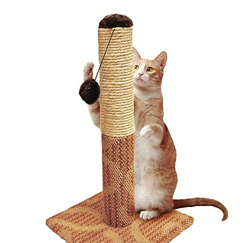 Four Paws Super Catnip Cat Scratching Post, 21
