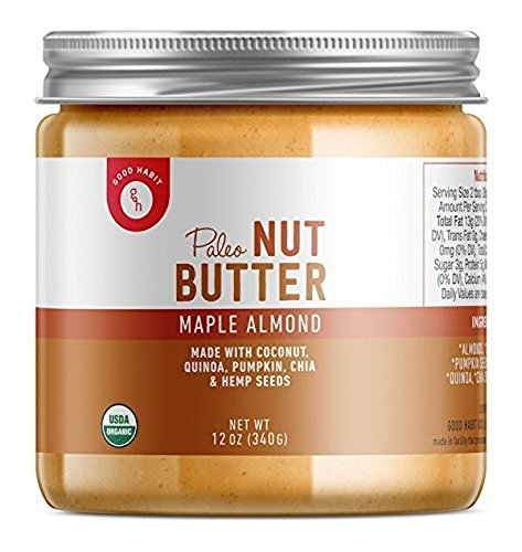 Amazon.com : Good Habit - Paleo Nut Butter - Maple Almond : Grocery & Gourmet Food