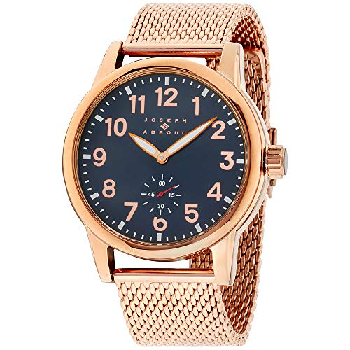 Joseph Abboud Navy Dial Stainless Steel Men's Watch JA3193RG648-RGN