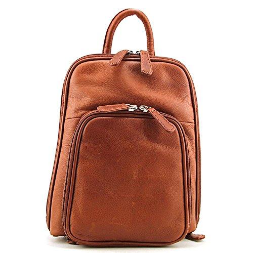 Osgoode Marley Cashmere Small Organizer Backpack (Brandy) Medium - Osgoode Marley Cashmere Card