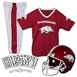 Franklin Sports NCAA Arkansas Razorbacks Deluxe Youth Team Uniform Set, Medium