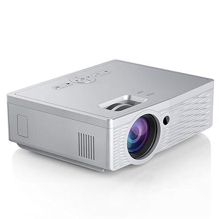 FSMJY Proyector, videoproyector portátil, 1080P HD, proyección de ...